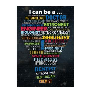 STEM Careers Inspire U Poster