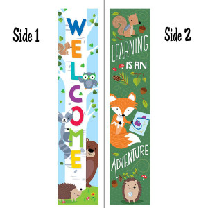 Woodland Friends 2-Sided Banner