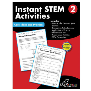 STEM Instant Activities Book-Grade 2