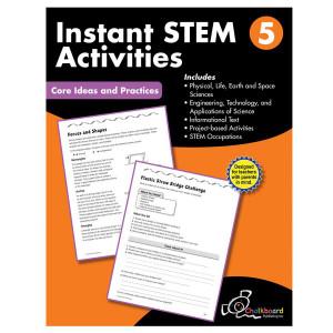 STEM Instant Activities Book-Grade 5