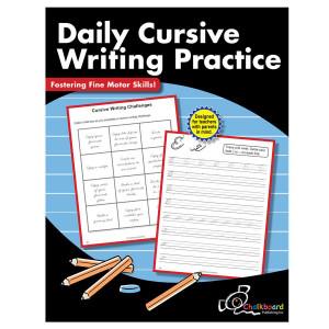 Daily Cursive Practice Book