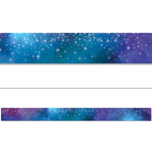 Mystical Magical Stars Border