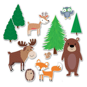 Jumbo Woodland Friends Bulletin Board