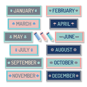 Calm & Cool Month Headlines Mini BB
