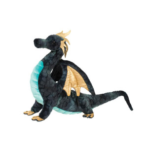 Aragon Navy Dragon Plush