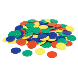 Soft Plastic Color Counters - 100 pack