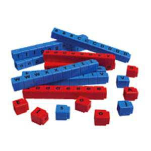 Unifix Consonant & Vowel Letter Cubes