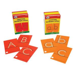 Sandpaper Letters-Uppercase & Lowercase