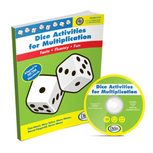 Dice Activities for Multiplication Book