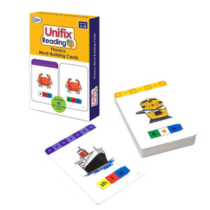 Unifix Reading Phonics Word-Building Cards