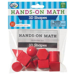 Hands On Math 3D Shapes-10 pack