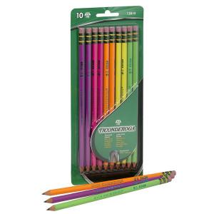 Ticonderoga Neon Pencils-10 count