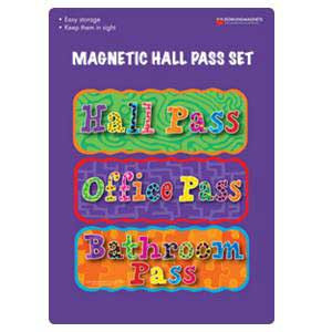 Magnetic Hall Pass Set