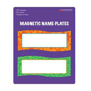 Magnetic Name Plates
