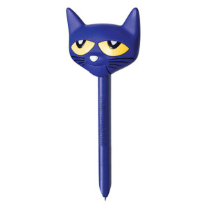 Pete the Cat Puppet-on-a-Pen