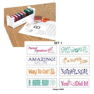 Teacher Stamps-Set 1