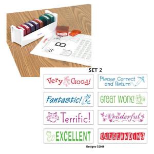Teacher Stamps-Set 2