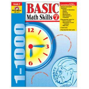 Basic Math Skills Book Grade 2