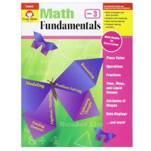 Math Fundamentals Book Gr 3