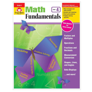 Math Fundamentals Book Gr 4