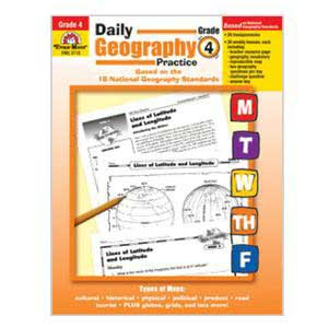 Daily Geography Book Grade 4
