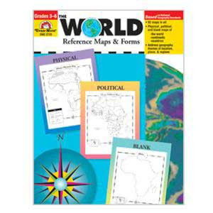 World Reference Maps Book Grades 3-6