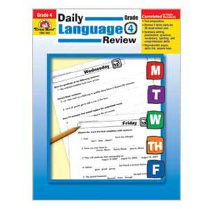 Daily Language Review Book Grade 4
