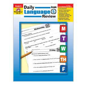 Daily Language Review Book Grade 5