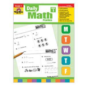 Daily Math Practice Book Grade 1
