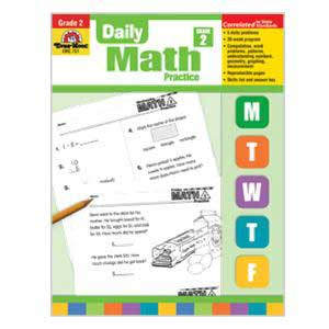 Daily Math Practice Book Grade 2