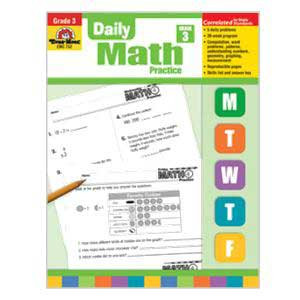 Daily Math Practice Book Grade 3