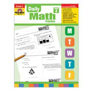 Daily Math Practice Book Grade 4