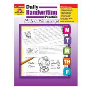 Daily Modern Manuscript Book