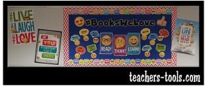 *Emoji Books Bulletin Board