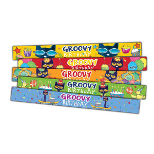 Pete the Cat Birthday Slap Bracelets