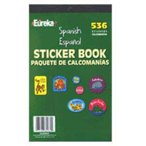 Spanish Sticker Book- 536 pack