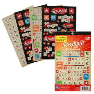 Scrabble Stickerbook