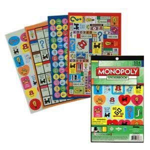 Monopoly Stickerbook