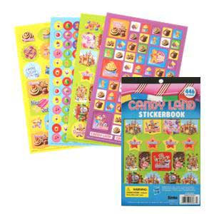 Candy Land Stickerbook
