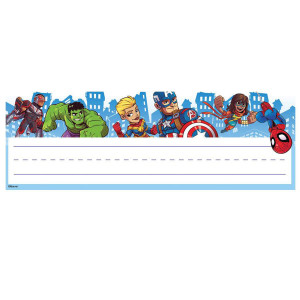 Marvel Super Hero Self-Adhesive Nameplates