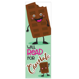 Chocolate Scented Bookmarks