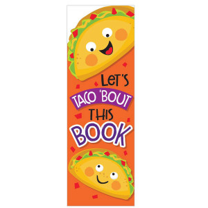 Taco Scented Bookmarks