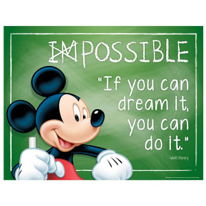 Mickey Mouse Possible-If You Can Dream It Poster