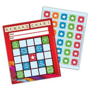 Scrabble Stars Mini Incentive Charts