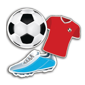 Soccer Assorted Cut-Outs