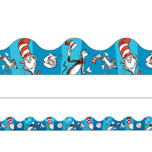 Dr. Seuss Cat in the Hat Border