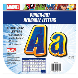 Marvel Super Hero Adventure Letters