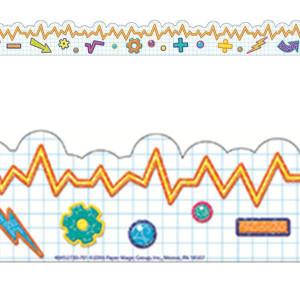 Color My World STEM Graph Border
