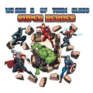 Marvel Super Heroes Bulletin Board
