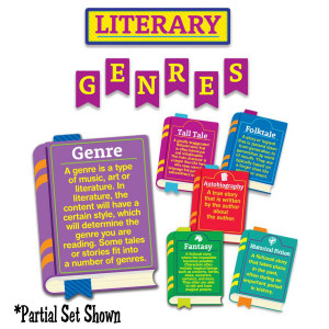 Literary Genres Bulletin Board